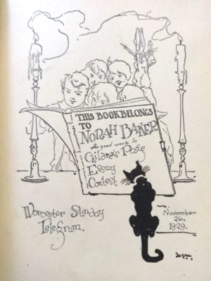 Dorothy and the wizard in oz book color plates essay contest award 1908