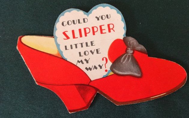 Red Ruby Slipper Valentine wizard of oz