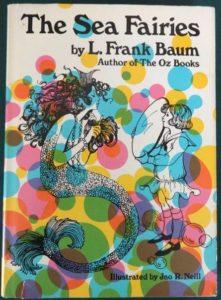 Sea Fairies book l frank baum groovy dust jacket