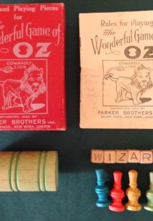 Wizard of Oz Game wonderful game of oz parker brothers