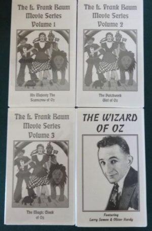 l frank baum video vhs movies wizard of oz