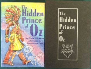 Hidden Prince of Oz book 1st edition limited edition slipcase