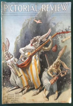 john r neill pictorial Review 1916 rabbits