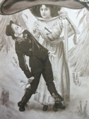 Scarecrow of oz postcard stageplay 1902 wizard of oz