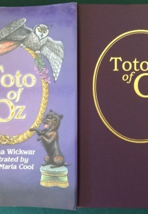 Toto of Oz book signed wickwar