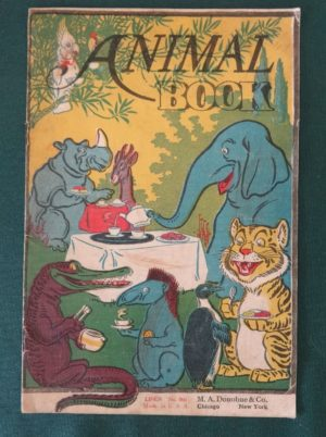 Animal Book w w Denslow picture book wizard of oz big circus book