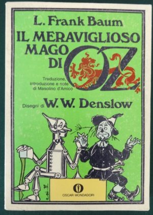 Italian Denslow Wonderful Wizard of Oz book