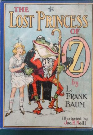 Lost princess of oz book color plates reilly & lee book