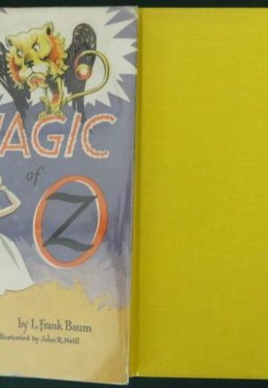 Magic of oz book dick martin dust jacket