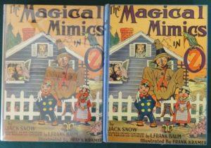 Magical mimics in oz book jack snow vintage wizard of oz