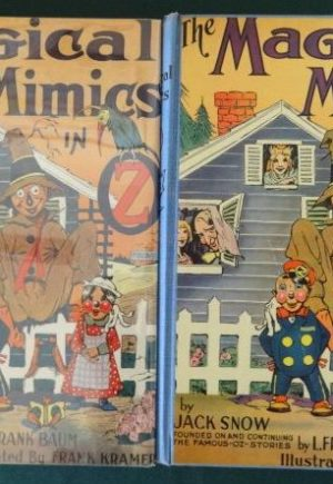Magical mimics in oz book jack snow vintage wizard of oz
