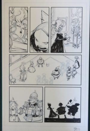 Marvel Skottie Young original art ozma of oz