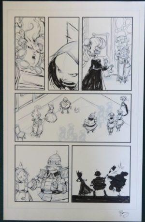 Marvel Skottie Young original art ozma of oz