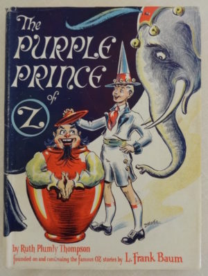 purple prince of oz book dick martin dust jacket wizard of oz