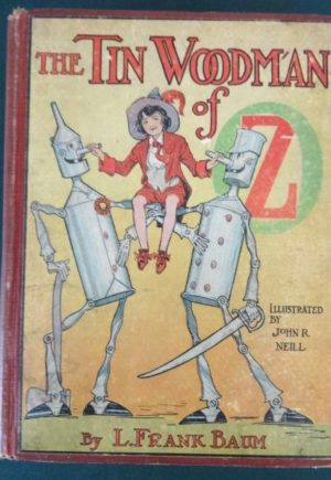 Tin Woodman of Oz book 1st edition