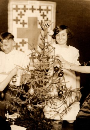 Junior Red Cross Vintage Photographs Christmas