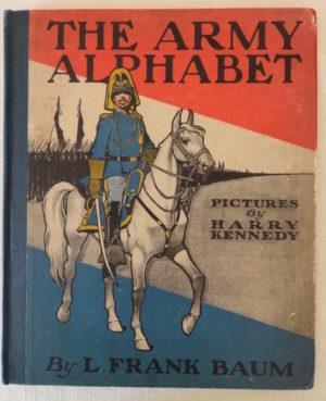 Army alphabet book l frank baum 1st edition 1900