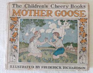 Frederick Richardson Mother goose 1918 l frank baum book