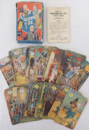 Wizard of Oz MGM playing cards british uk