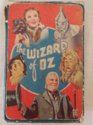 Wizard of Oz MGM playing cards british uk
