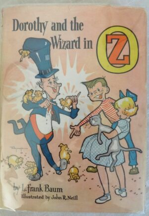 Dorothy and the wizard Roycraft dust jacket book