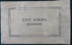 East Aurora Illustrated book advertising elbert hubbard roycrofters antique
