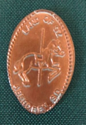 Land of Oz carousel Horse token aberdeen