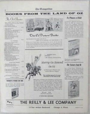Ozmapolitan 1963 Merry go round in oz wizard of oz