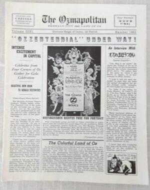 ozmapolitan, 1965 wizard of oz reilly & lee