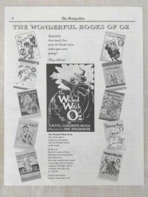Ozmapolitan 1993 wicked witch of oz