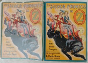 Silver Princess in Oz 1st edition Dust jacket