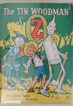 Tin Woodman of Oz book Roycraft dust jacket