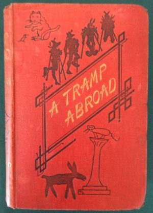 a Tramp Abroad book w w denslow illustrated 1881