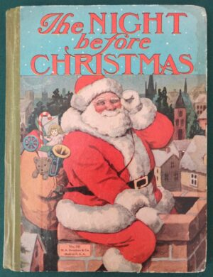 Night Before Christmas Denslow Donohue Wizard of Oz book mother goose