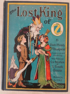 Lost King of Oz book 1st edition ruth plumly thompson book