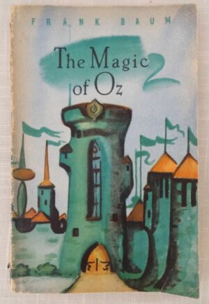 Magic of Oz Russian 1961 Leningrad book L Frank Baum