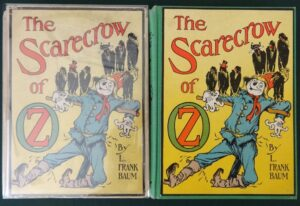 Scarecrow of Oz book 12 color plates dust jacket
