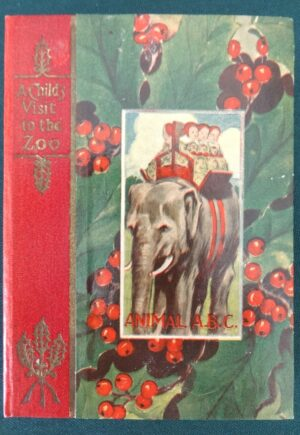 Animal ABC 1st edition christmas stocking book 1905 l frank baum