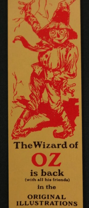 Reilly& Lee Wizard of Oz Book Bookmark