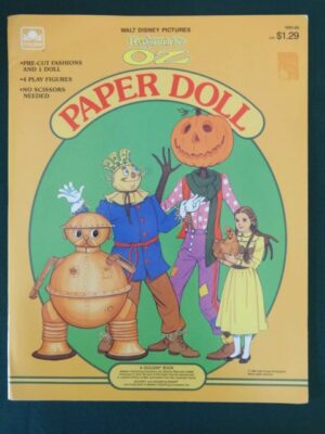 Return to Oz Paper doll book 1985