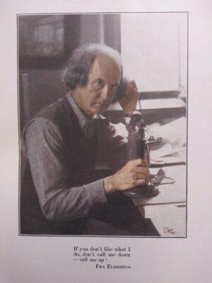 Roycroft Our Telephone Book Elbert Hubbard