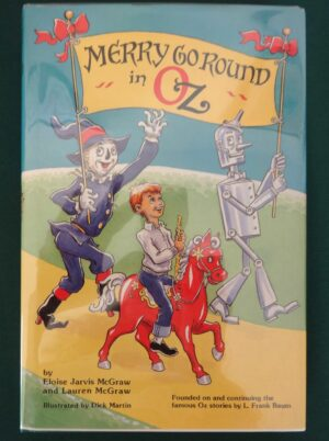 Merry Go Round in Oz Wizard of Oz Book
