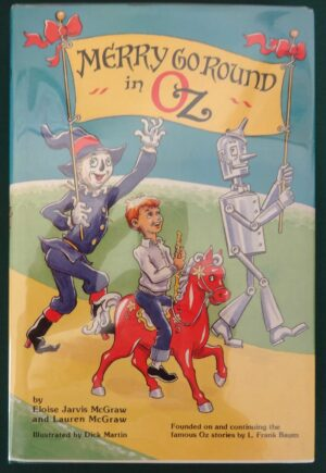 Merry Go Round in Oz Wizard of Oz Book