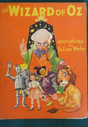 julian wehr wizard of oz animated book