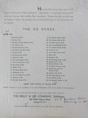 Ruth Plumly Thompson Personal Stationery Letterhead