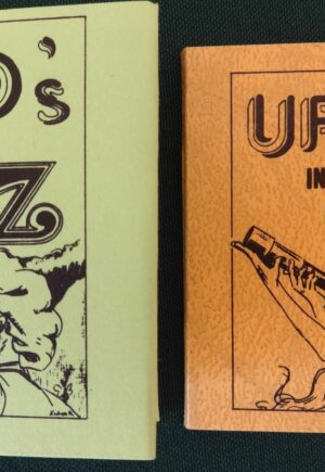 UFOS in Oz Miniature book wizard of oz dust jacket alla ford