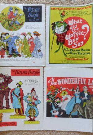 Baum Bugle Wizard of Oz magazine proof covers