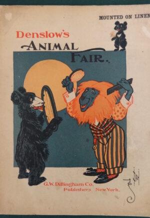 Denslows Animal Fair Book Linen 1904