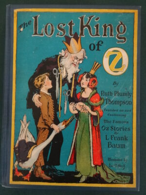 Lost King of Oz book first edition wizard of oz 1925