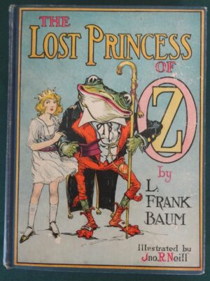 Lost Princess of oz book Color plates l frank baum
